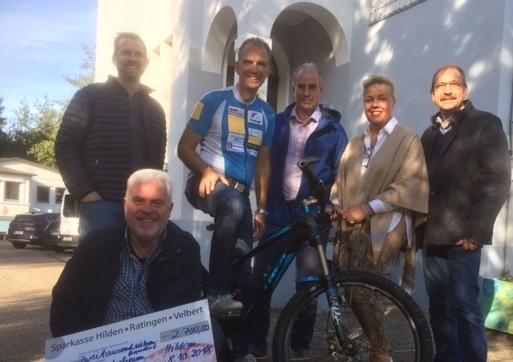 "Fortsetzung: Spenden-Fahrradtour ""Alpencross"" 2018"
