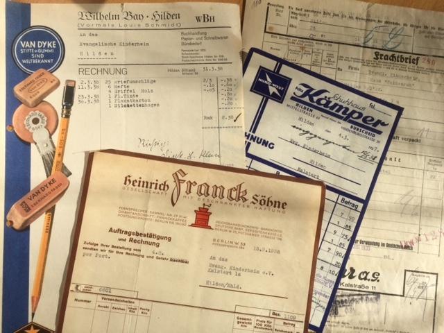 85 Jahre alte Dokumente